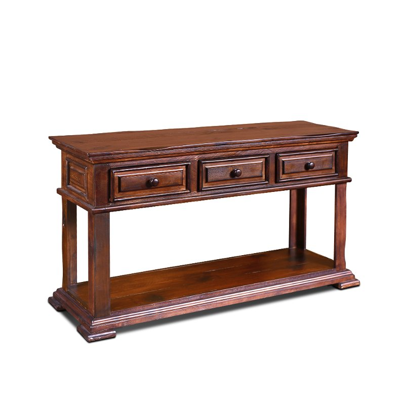 Brown Country Sofa Table Marquis Rc Willey Furniture Store