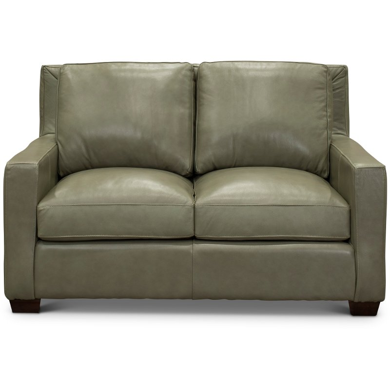 Green Leather Loveseat Coffee Tables Ideas