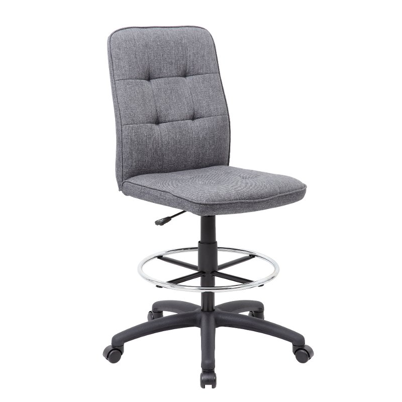 Miraculous Gray Office Drafting Chair Drafting Chair Series Dailytribune Chair Design For Home Dailytribuneorg