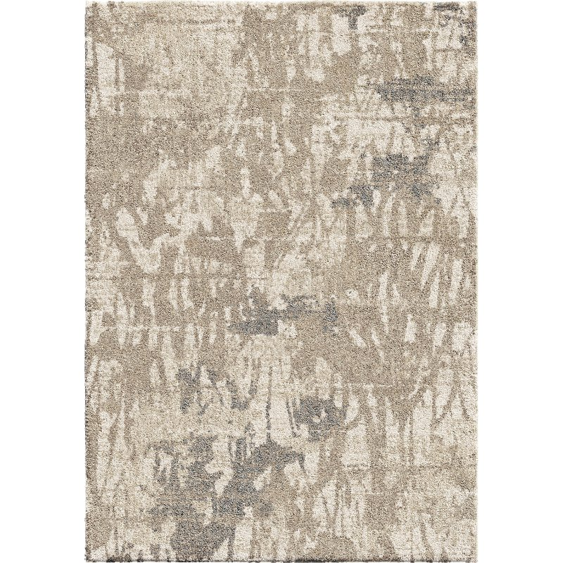 8 X 10 Large Mystical Abstract Ivory And Beige Area Rug Mystical Rc Willey Furniture Store