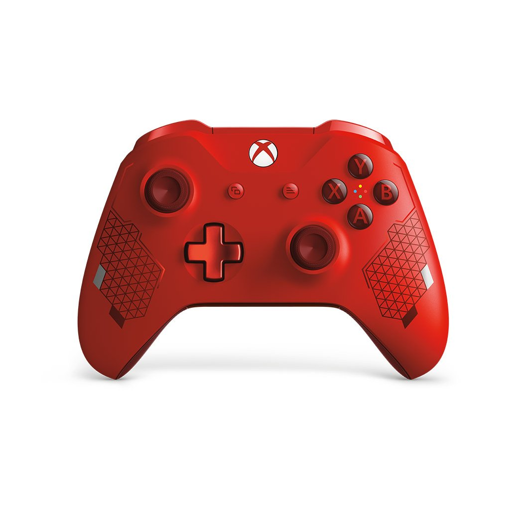 Rc Willey Sports: Wireless Xbox One Controller- Sport Red Special Edition