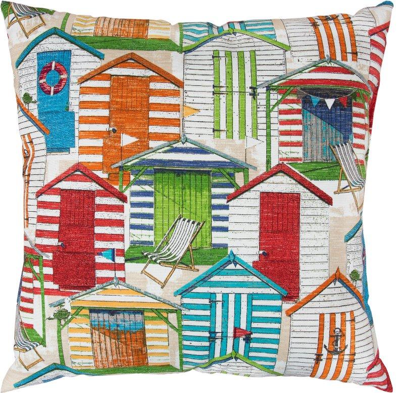 Multi Color Door Front Indoor Outdoor Throw Pillow Rc Willey Furniture Store
