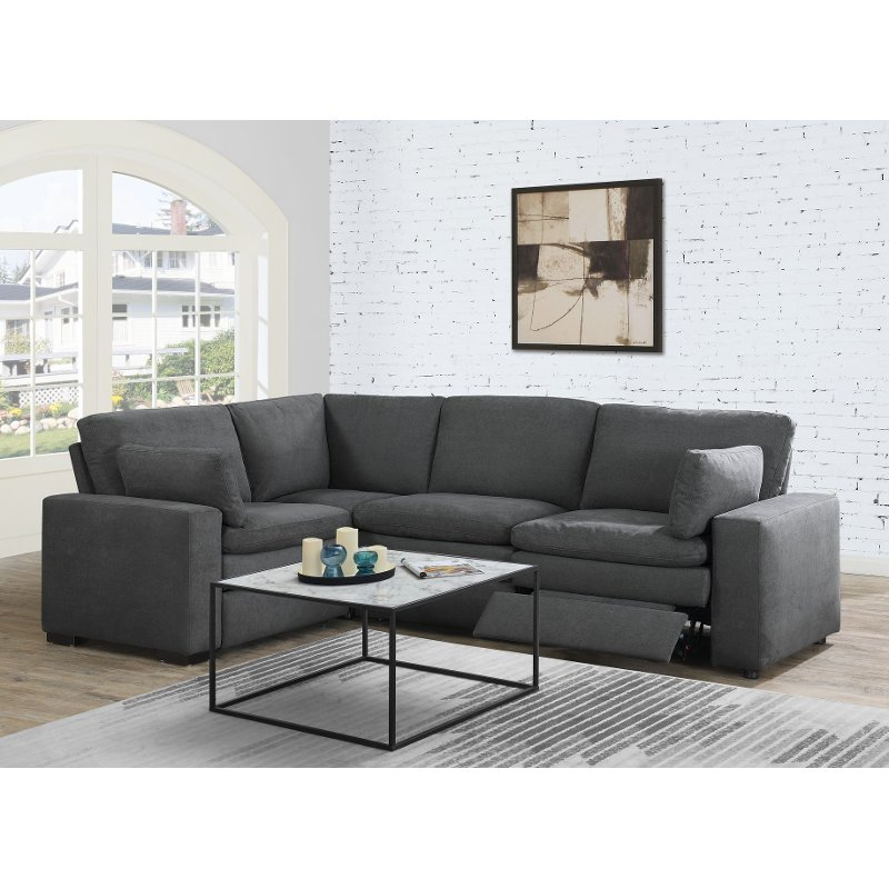 4 Piece Reclining Sectional Sofa