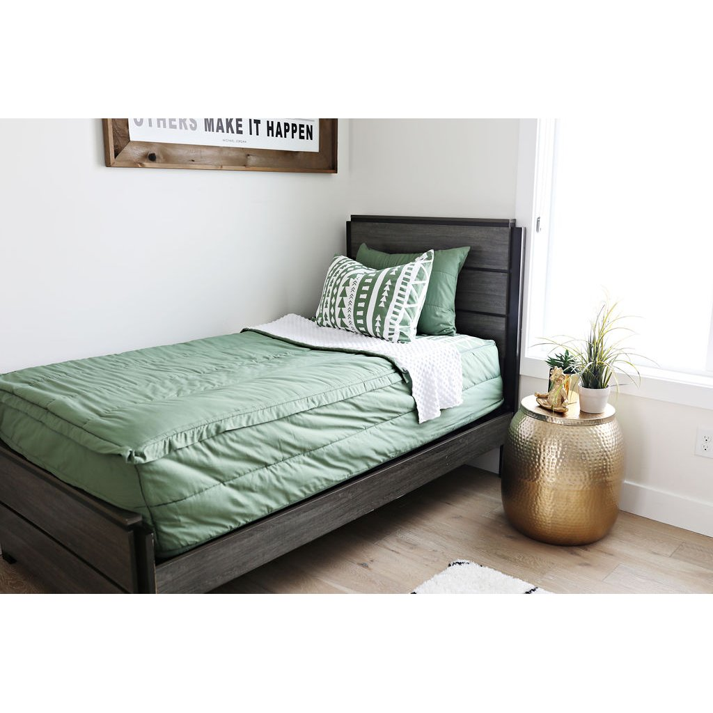 Beddy S Twin Olive You Green Bedding Collection Rc Willey Furniture Store