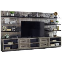 Industrial 68 Inch Entertainment Center - Billboard