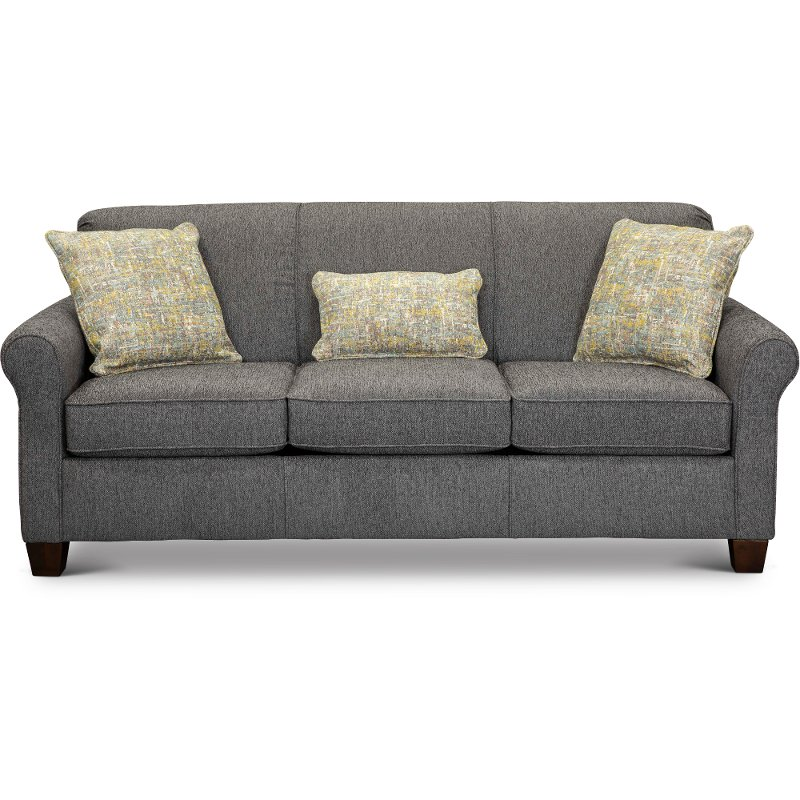 Griffin Denim Blue Queen Sofa Bed With