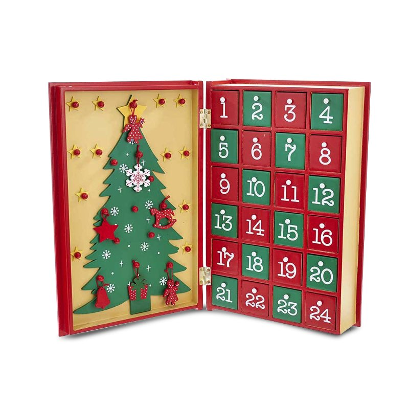 Rc Wiley Reno: Wooden Book Advent Calendar
