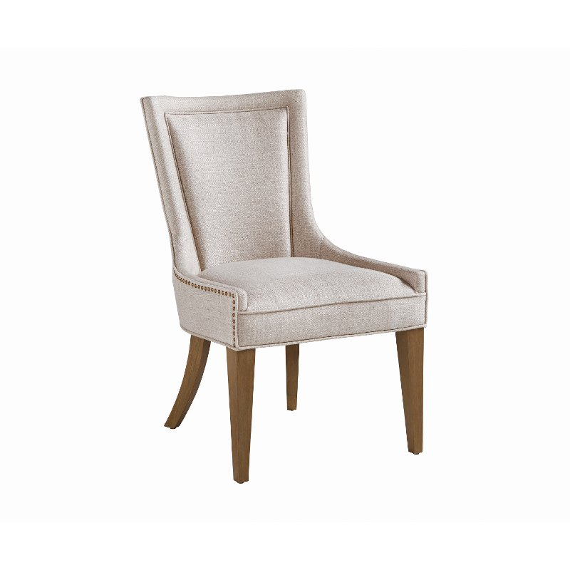 Beige Upholstered Dining Room Chair Park Avenue Rc Willey Furniture Store