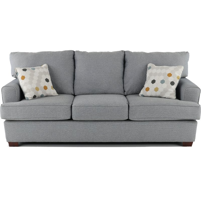 Contemporary Gray Sofa - City