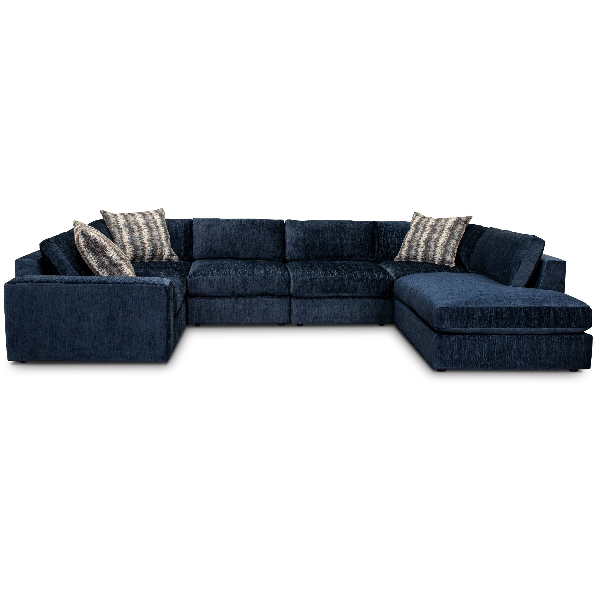 6 Piece Sectional Sofa With Raf Chaise