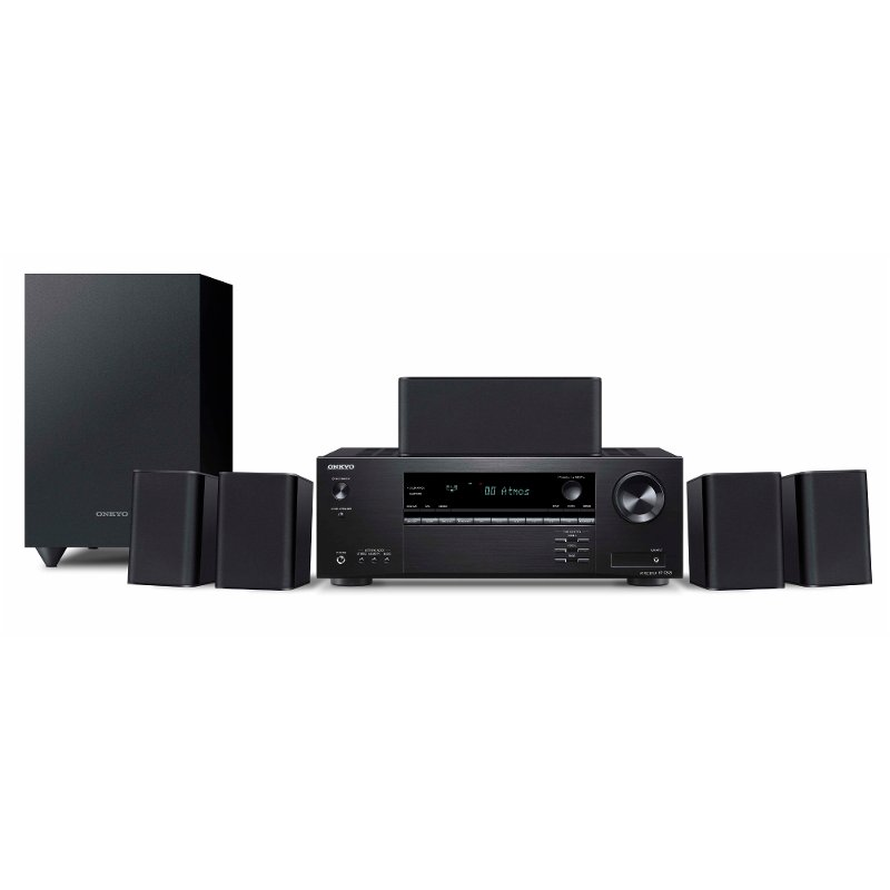 Onkyo 5 1 Channel Home Theater System with Receiver and Speakers