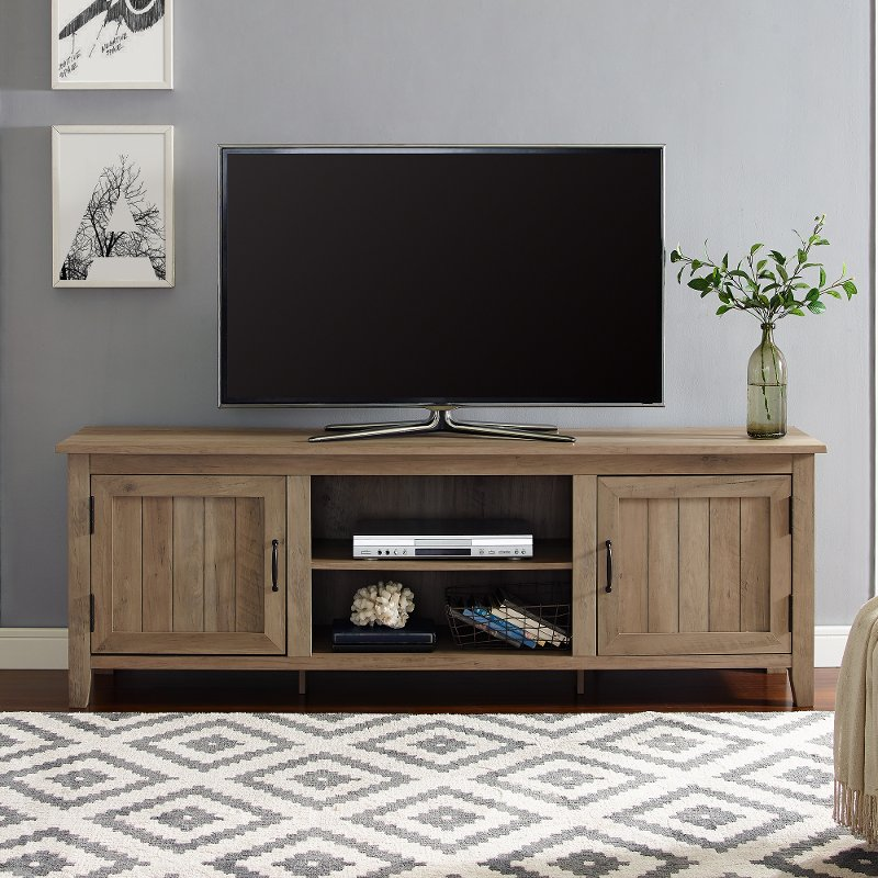 70 Inch Modern Farmhouse Wood Tv Stand, Rustic Furniture Tv Stand