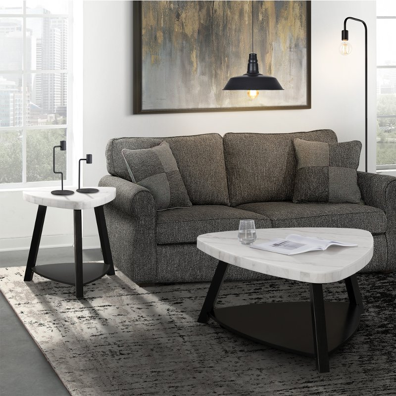 Super Modern White Marble Coffee Table Trinity Ncnpc Chair Design For Home Ncnpcorg