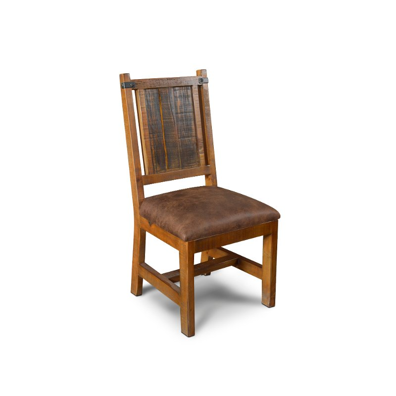 Rustic Pine Dining Room Chair Big Timber Rc Willey Furniture Store