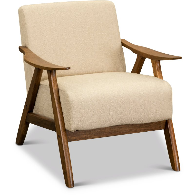 Enjoyable Light Brown Modern Accent Chair With Exposed Wood Frame Damala Squirreltailoven Fun Painted Chair Ideas Images Squirreltailovenorg