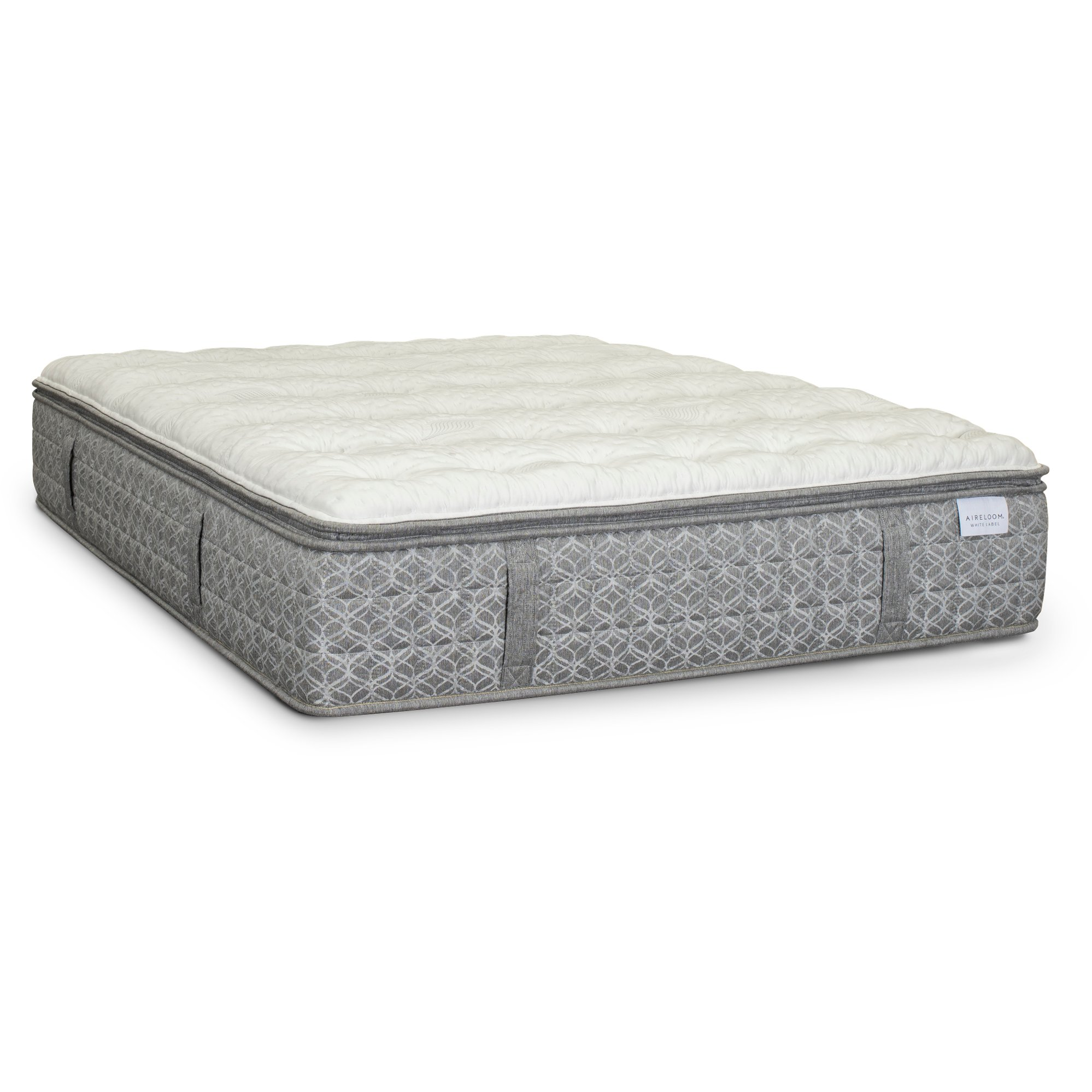 Aireloom Luxetop Firm King Size Mattress White Label Camellia Ii