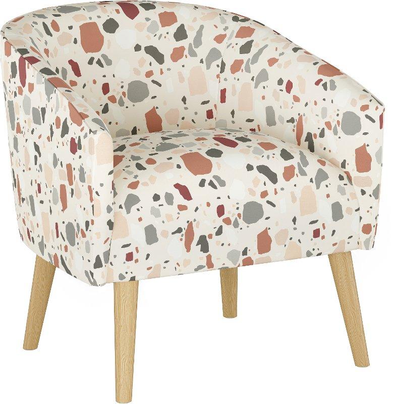Modern Multi Color Terrazzo Rust Deco, Modern Rust Furniture