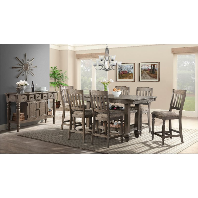 5 Piece Counter Height Dining Room, Counter Height Dining Room Table