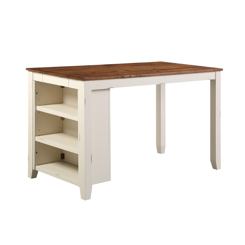 White Counter Height Dining Room Table, Dining Room Table Height