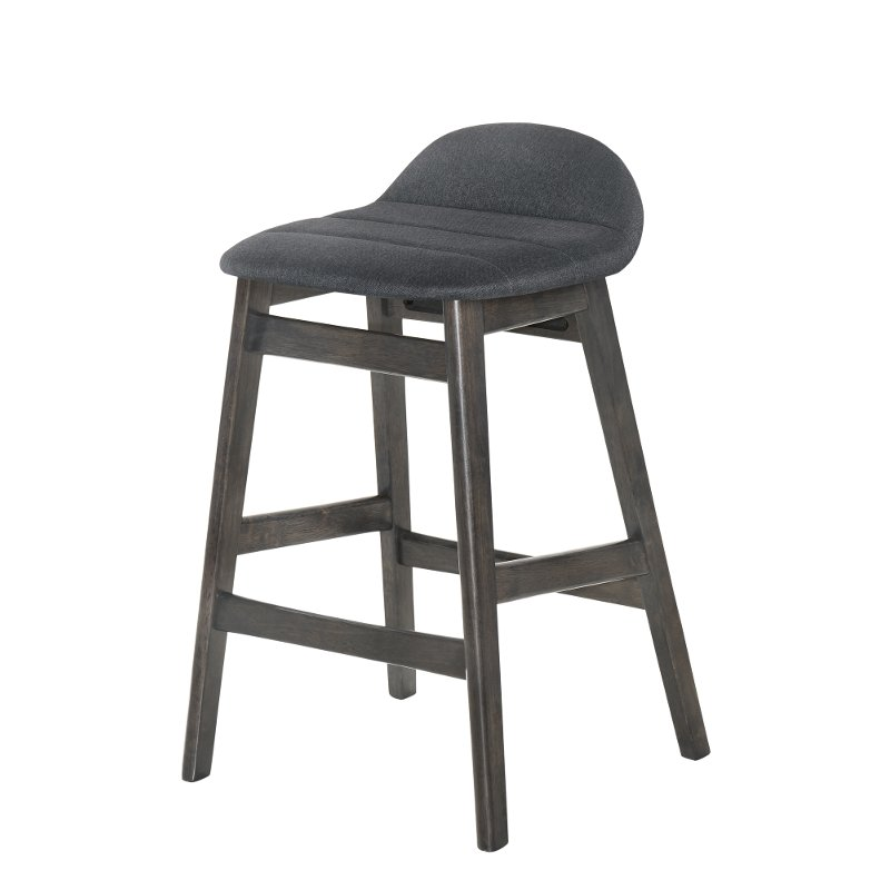 Crown Mark Samar Counter Height Chair Charcoal 2796c 24 Char, 24 Inch Height Chairs
