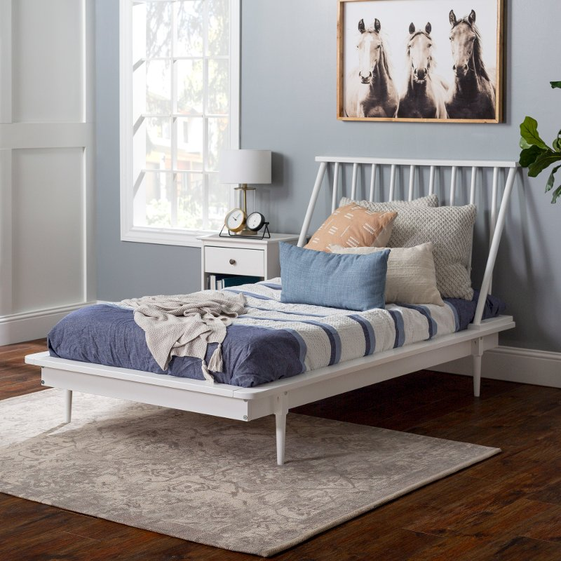 Gold Glass Dining Table, Mid Century White Twin Platform Bed Spindle Rc Willey Furniture Store