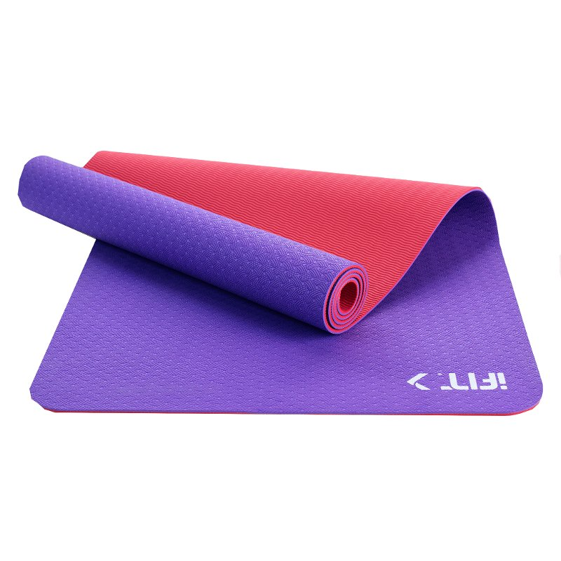 Ifit Yoga Mat Pink Purple Rc Willey Furniture Store