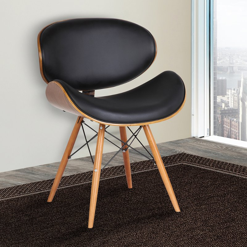 Black Dining Room Chair Cassie, Mid Century Modern Dining Room Chairs