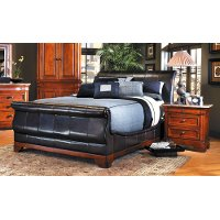 Cindy crawford home cal king sleigh bed rc willey - Cindy crawford savannah bedroom furniture ...