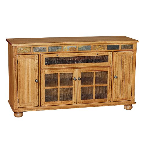 Sunny Designs 62 Inch Oak Tv Stand Sedona Rc Willey Furniture Store