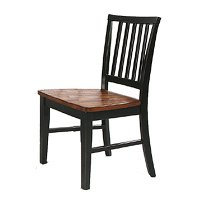 Arlington Black Java Side Chair Rc Willey Furniture Store