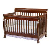 kalani cherry 4 in 1 crib rc willey furniture store