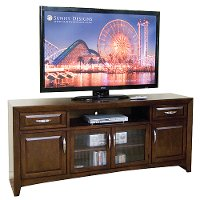 80 Inch Cappuccino Brown Tv Stand Rc Willey Furniture Store