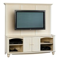 Sauder 2 Piece Entertainment Wall Unit RC Willey