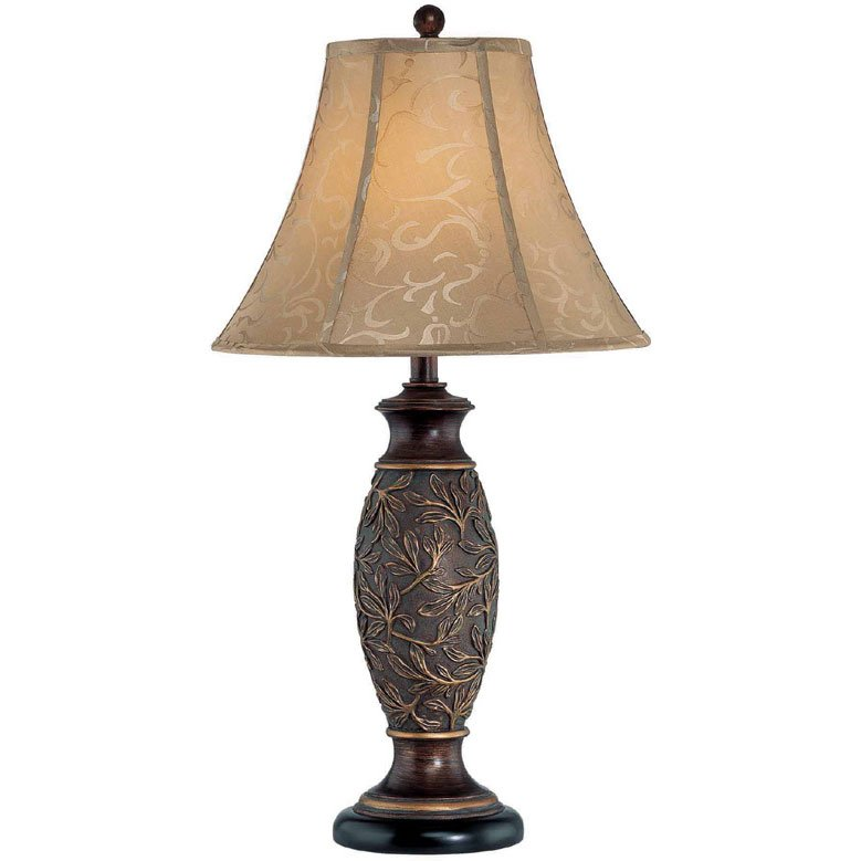 Gentry Dark Bronze Table Lamp
