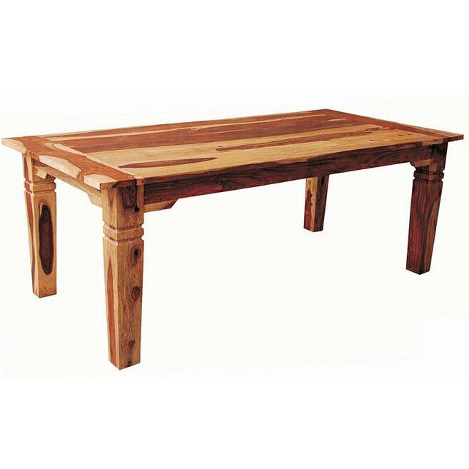 Rc Willey Boise Idaho: Dining Table - Rustic Tahoe Natural Wood