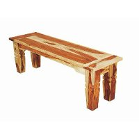 Natural Wood Dining Bench Tahoe Collection RC Willey Furniture Store