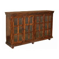 Monsoon Dark Brown Sideboard