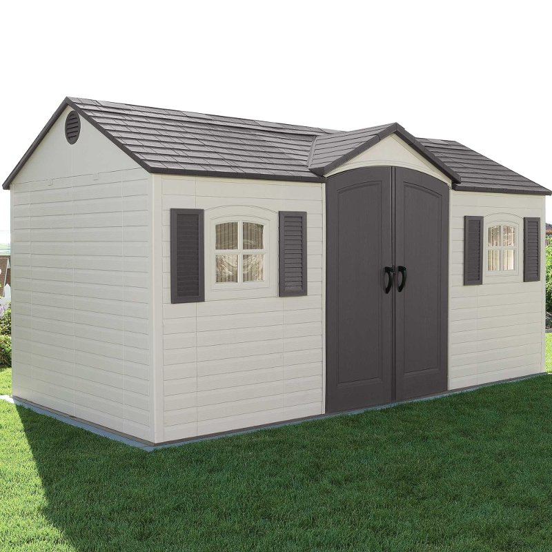 Lifetime 15 Ft. X 8 Ft. Side Entry Garden Storage Shed | RC Willey  Furniture Store