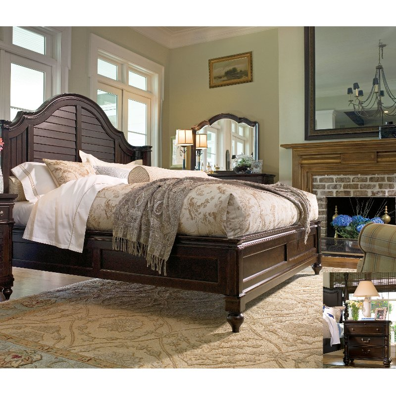 paula deen home by universal 6 piece queen bedroom set