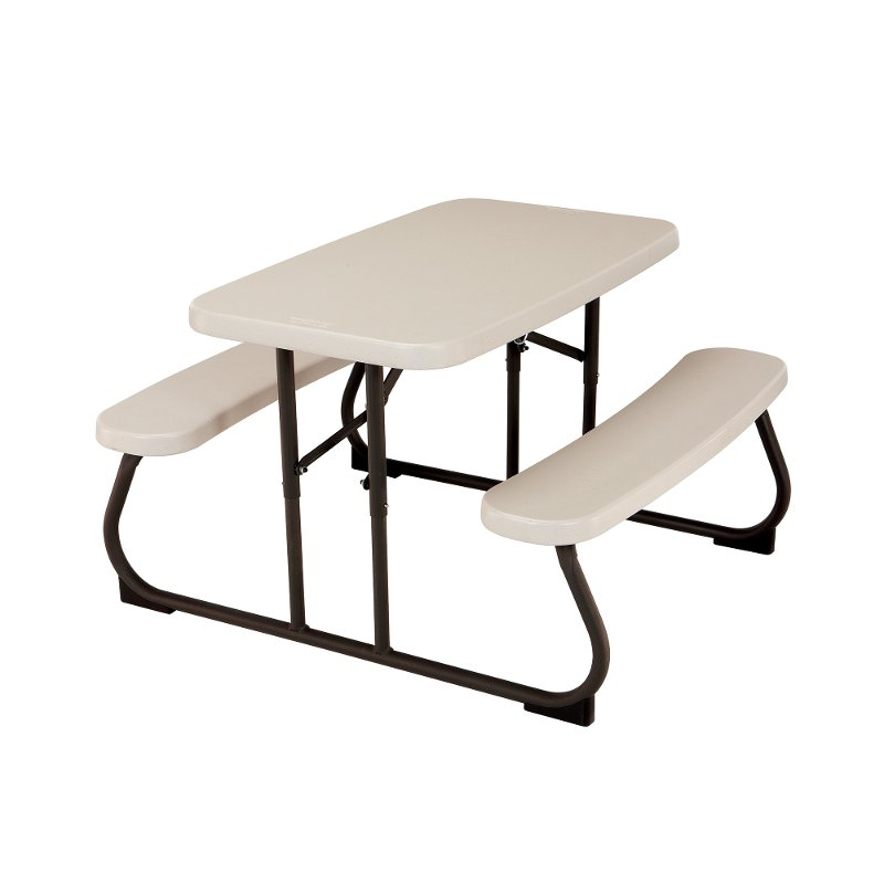 Lifetime 3 Foot Kid S Folding Picnic Table White Rc Willey Furniture