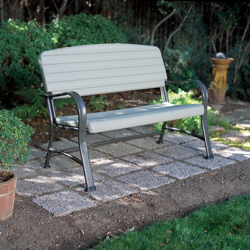 Lifetime Products Outdoor Glider Bench