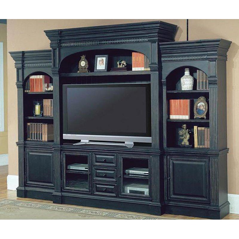venezia 4 piece entertainment wall unit. Black Bedroom Furniture Sets. Home Design Ideas