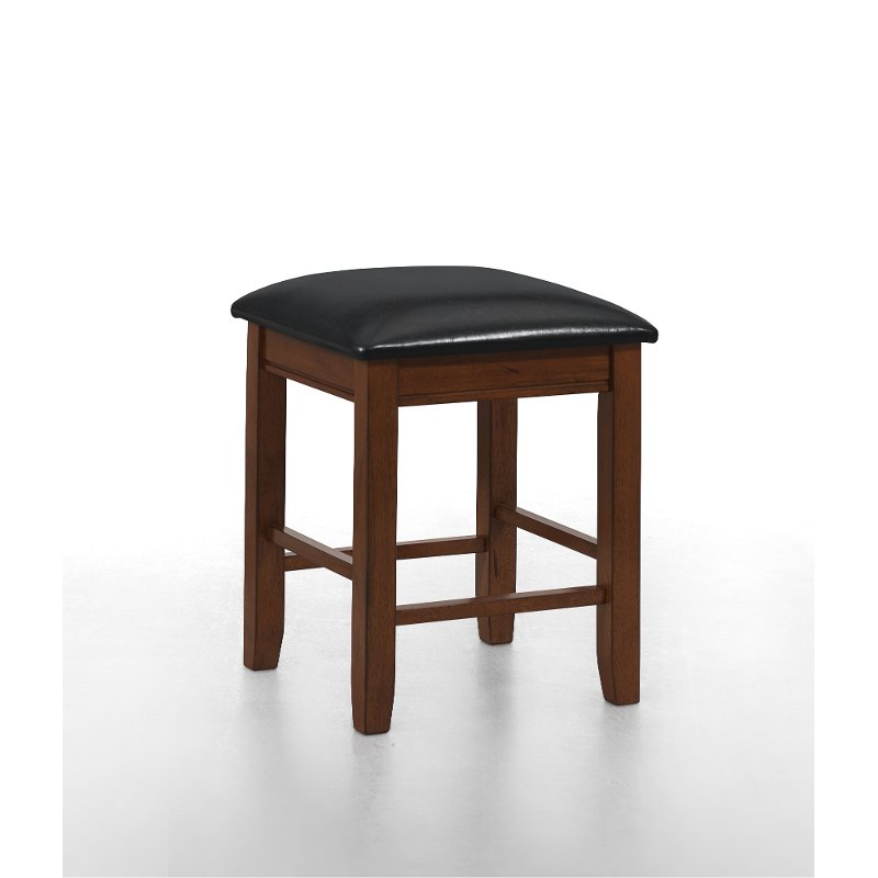 Siena Black And Cider Counter Stool Rc Willey Furniture
