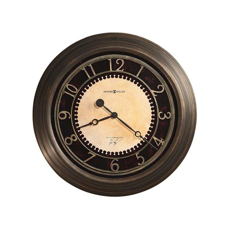 chadwick brass wall clock