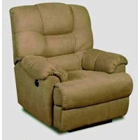 38  Buff Microfiber Power Recliner
