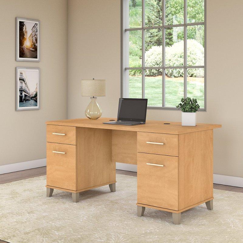 Somerset Bush Furniture Desk