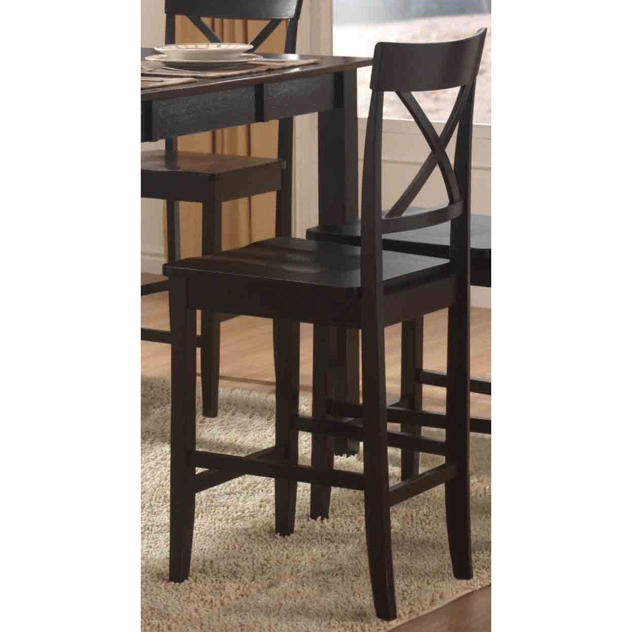 Black Sand 24 Inch Counter Stool Rc Willey Furniture Store
