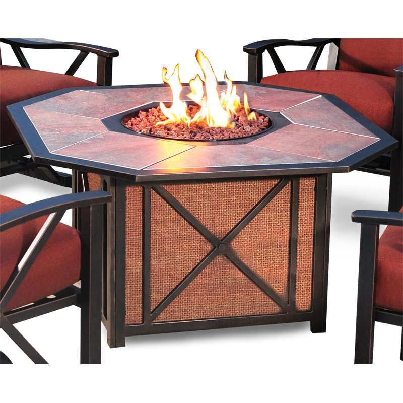 Outdoor Patio Fire Pit   Haywood