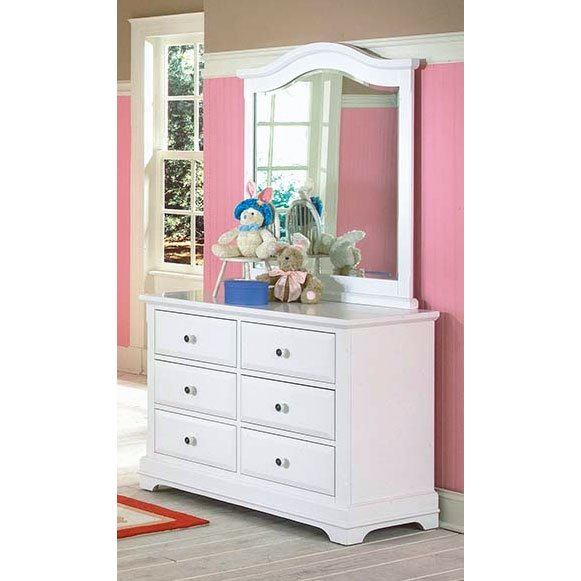 Rc Willey Stores: Classic White Dresser - Bayfront