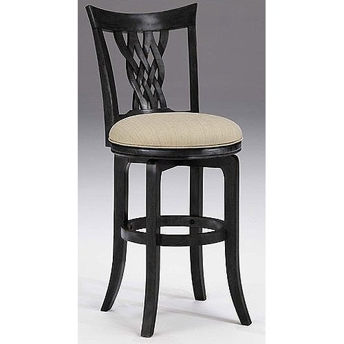 Black 30 Inch Bar Stool Embassy Rc Willey Furniture Store